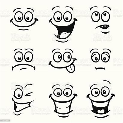 Smiley Faces Face Vector Cartoon Facial Illustration
