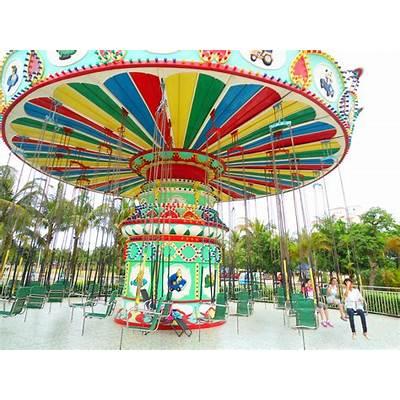 File:Baishamen Park - amusement park swing ride 01.jpg