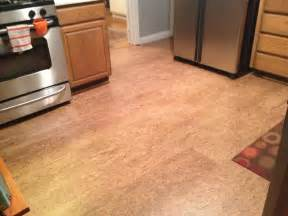 cork floor in los gatos kitchen contemporary san