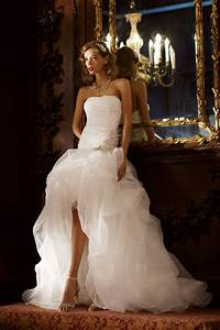 high low wedding dresses dressed up girl With high to low wedding dress