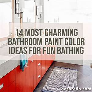 14, Most, Charming, Bathroom, Paint, Color, Ideas, For, Fun