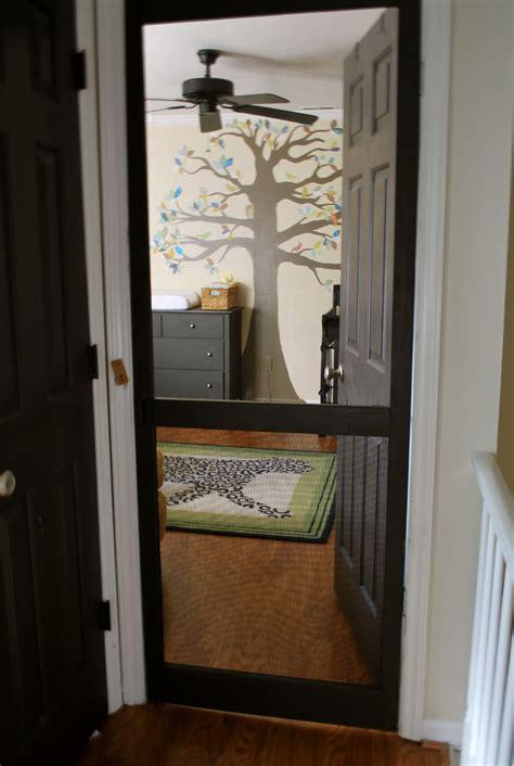 Bedroom Door Sticks At Top by Screen Door On Nursery Great If You Cats Kid