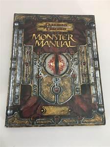 Dungeons  U0026 Dragons Monster Manual Core Rulebook Iii V 3 5