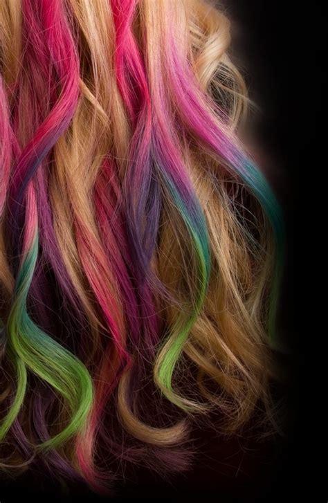Dip Dye Hair Bachelorette Lifestyle