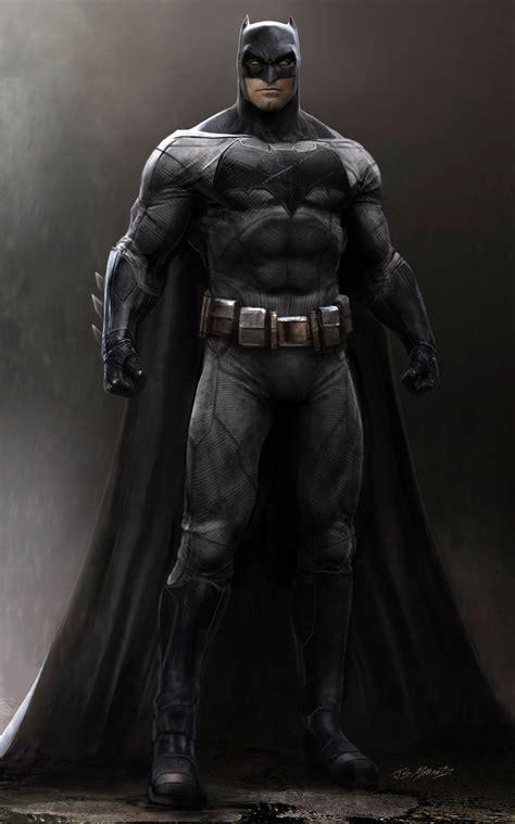 Jerad Marantz - Batman vs. Superman: Batman Concept Art