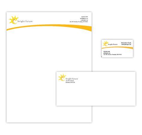 letterhead design business letterhead design sles