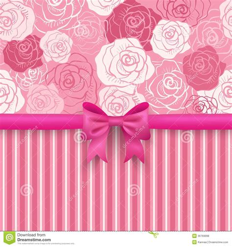 romantic seamless background greeting card royalty
