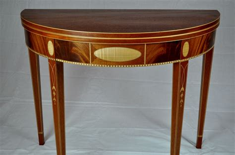 table cuisine demi lune made federal demi lune table by k smith custom