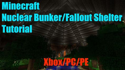 minecraft     nuclear bunkerfallout shelter xboxpcpe area  approved