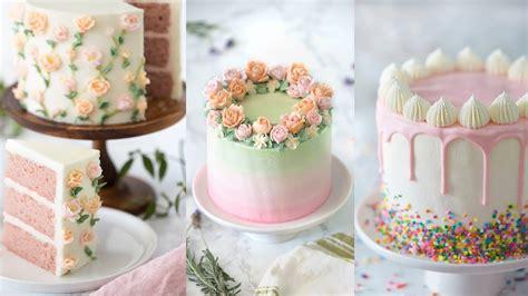 amazing cake decorating compilation youtube