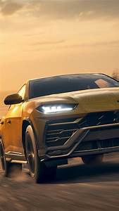 Wallpaper Forza Horizon 4, Lamborghini Urus SUV car front