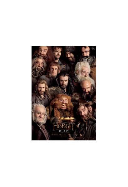 Hobbit Dwarves Lord Film Dwarf Hobbits Many