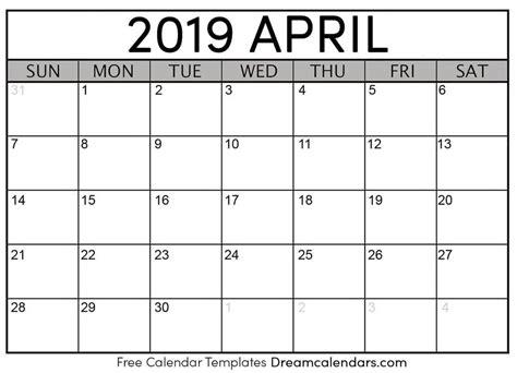 blank april calendar dreamcalendars deviantart