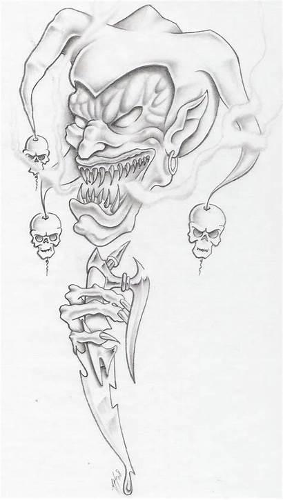 Evil Jester Deviantart Markfellows Draw