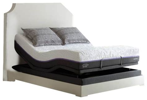 sealy adjustable beds sealy reflexion 4 xl adjustable power base