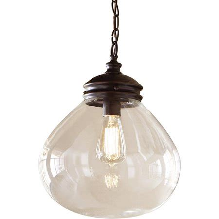 drop light walmart belair lighting filament bulb 1 light drop pendant