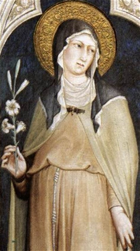 da mihi animas of the day clare of assisi