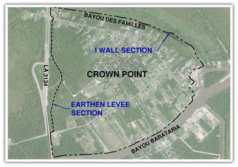 Digital elevation models of southern louisiana: Meyer Engineers, Ltd. - Crown Point Levee System