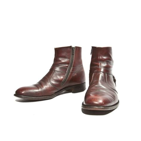 Mens Boots With Zipper Boot