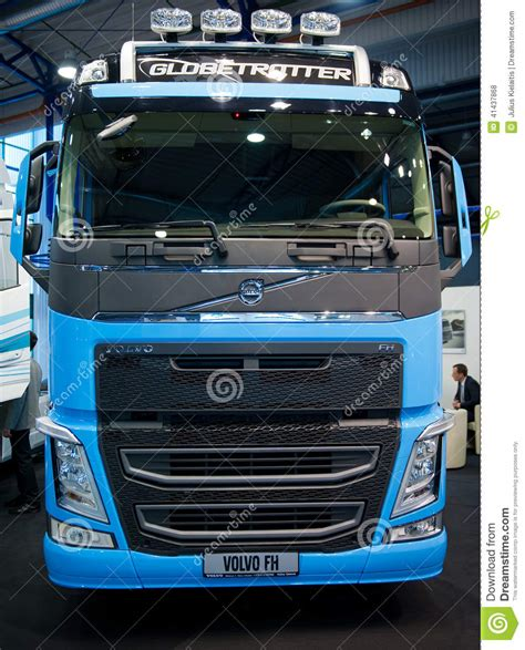 volvo truck factory sweden volvo fh truck editorial stock photo image 41437868