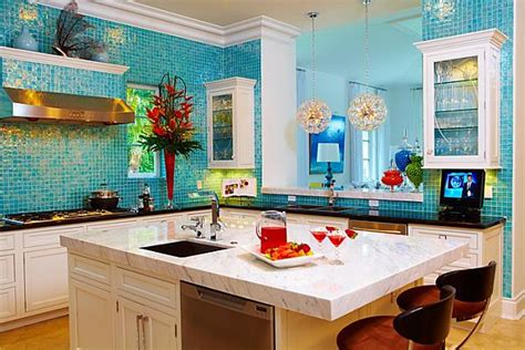 Vibrant Colors In The Kitchen