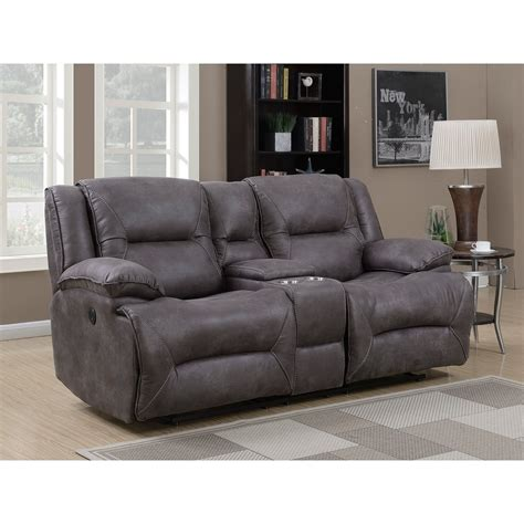 dual recliner loveseat with console dual power reclining loveseat with storage console
