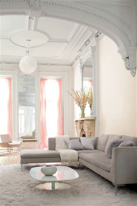 color trends 2015 pink damask oc 72 chantilly lace oc 65 traditional living room by