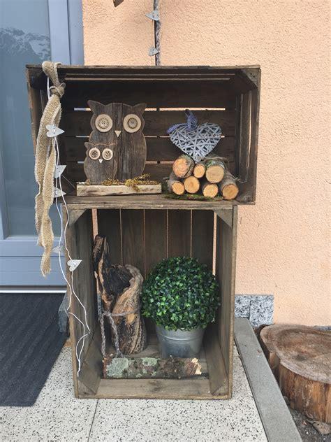 Alte Holzkisten Dekorieren by Deko Aus Alten Holzkisten Imst