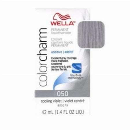 wella color charm 050 wella 050 cooling violet 42ml products quezon