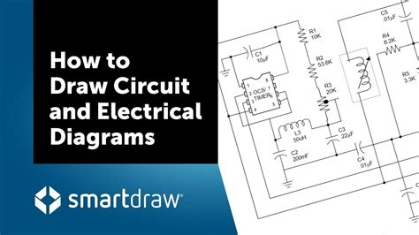 How Draw Circuit Electrical Diagrams With Smartdraw
