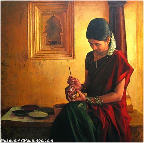Rural Indian Women Paintings 018