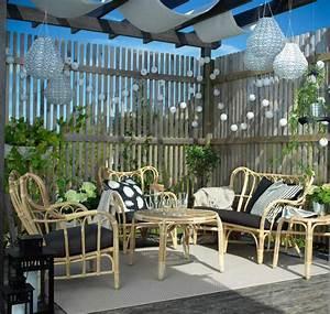 Salon Jardin Rotin : salon de jardin toutes les nouveaut s femme actuelle ~ Melissatoandfro.com Idées de Décoration