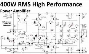 High Performance Power Amplifier 400 Watt  With Images