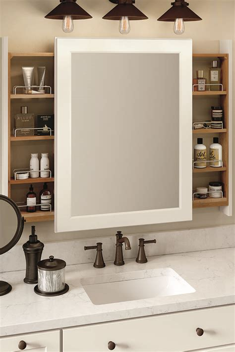 thomasville organization wall vanity mirror  side