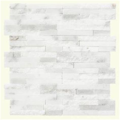 tiles for kitchen jeffrey court churchill white split 11 75 in x 12 5 4607