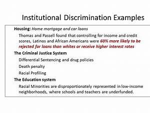 III. Prejudice and Discrimination - ppt video online download