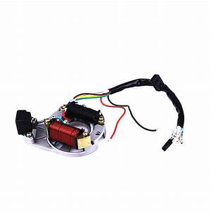 Electrics Atv Stator Wiring Harness 50cc 70cc 110cc 125cc W  Remote Start Switch