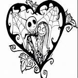 Tattoo Nightmare Before sketch template