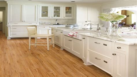 kitchen cabinets with light wood floors engineered bamboo floor country kitchens with white 9838