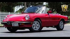 1986 Alfa Romeo Spider Veloce