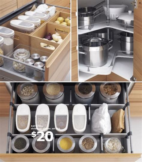 25+ Best Ideas About Ikea Kitchen Organization On