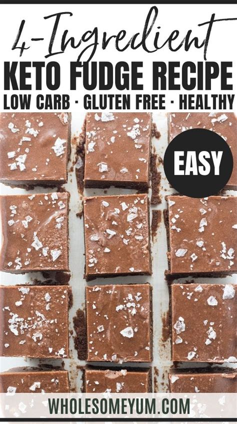 It's possibly the best diet for weight loss, and it can even one serving of this keto smoothie recipe using cacao powder and without toppings contains the following, including only 6.1 net carbs (total carb. Easy Keto Fudge Recipe With Cocoa Powder - 4 Ingredients ...