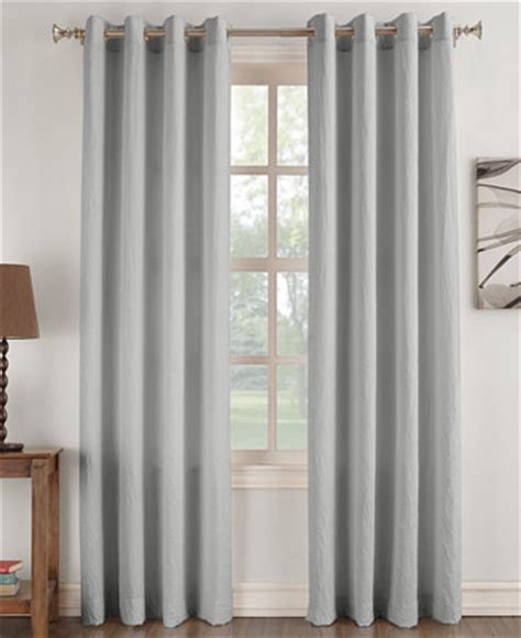 lichtenberg curtains no 918 henna no 918 janice solid crushed microfiber pair of grommet