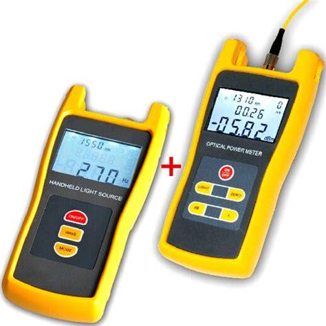 power meter light source test fiber optical light source power meter laser tester light