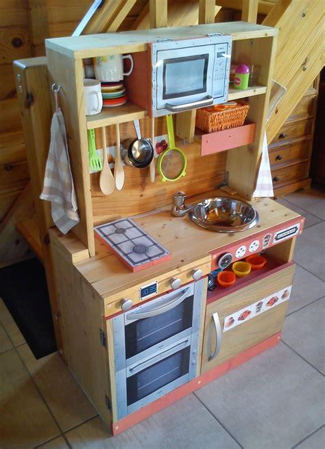 cuisine en bois enfants cuisinière en bois pour enfant fait maison diy