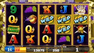 Bacchus Gold Slot Machine By Bally Tech, Inc (2011