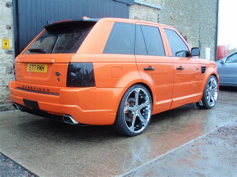 Land Rover Range Rover Sport Modification by Rimcityuk 2008 Land Rover Range Rover Sport Specs Photos