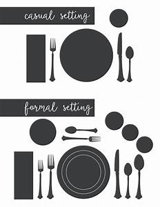 Entertaining Tips  U0026 Setting A Proper Table