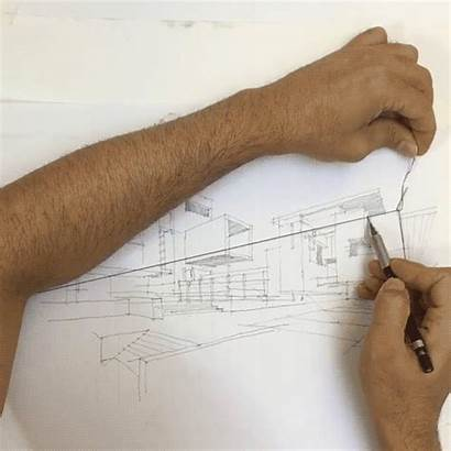 Perspective Drawing Point Architect Hack Architectural Vanishing