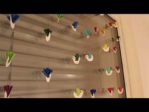 Sommer Basteln Kinder : diy vogelgirlande window decoration birds fensterdeko basteln auch f r kinder children kids ~ Orissabook.com Haus und Dekorationen